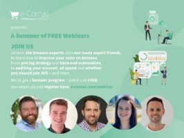 e-Comas and their expert friends are holding free Amazon webinars