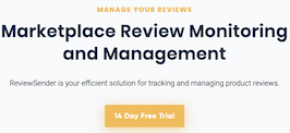 Monitor your product reviews on Amazon, Walmart & Target